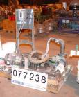 Used- Viking Rotary Pump, Model K724. Approximately 35 gallons per minute at 420 rpm. 2