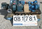 Used- Viking Heavy Duty Internal Gear Pump, Model KK125, Carbon Steel. Approximately 100 gallons per minute at 780 rpm, maxi...