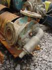 Used- Viking rotary pump, model LL32, stainless steel. 140 gallons per minute at 520 rpm, 3