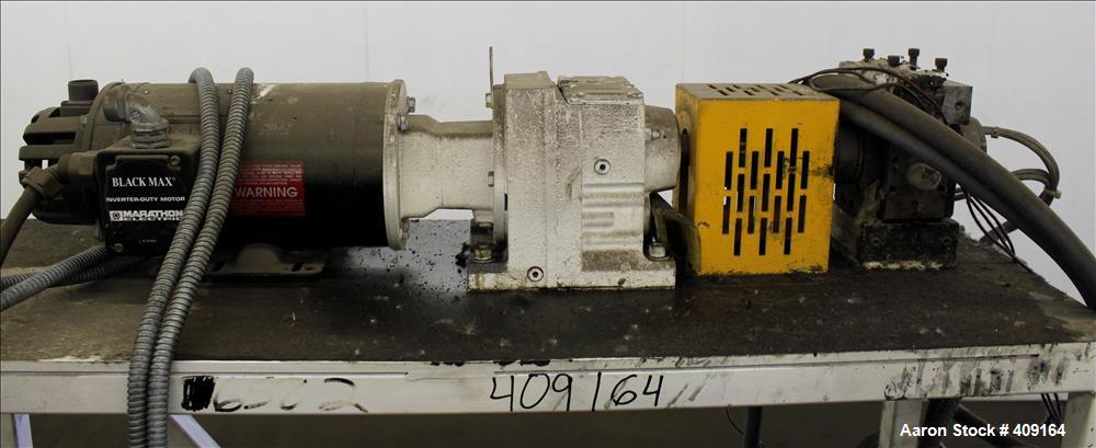 "Used- Zenith Melt Pump, Model 60-20000-2174-4. Approximate 1"" diameter inlet/outlet. Driven by a 1 hp, 3/60/460 volt, 1750 r..."