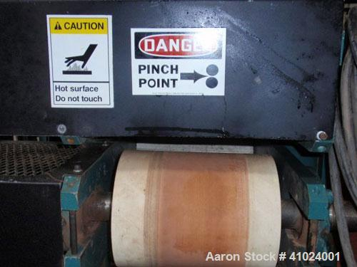 "Used- CDS Artificial Lumber Embosser, Model CES 2-8 . (1) 8'' diameter x 10'' face embossing roll set up for 8"" wide embossi..."