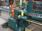 Used- CDS Artificial Lumber Embosser, Model CES 2-8 . (1) 8'' diameter x 10'' face embossing roll set up for 8