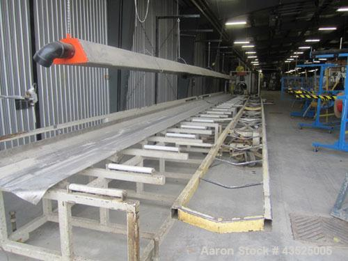 Used- CDS Collection Dump Table, Model CTTP 18-50