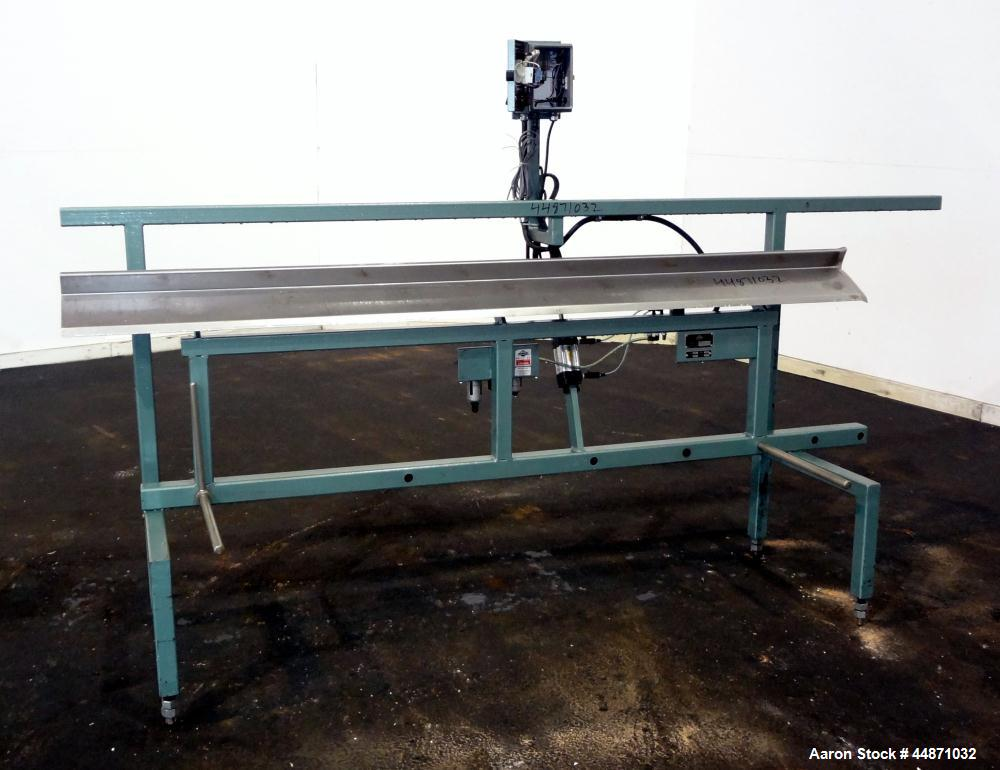 Used- Metaplast Air Operated Dump Table, Model DT6-8