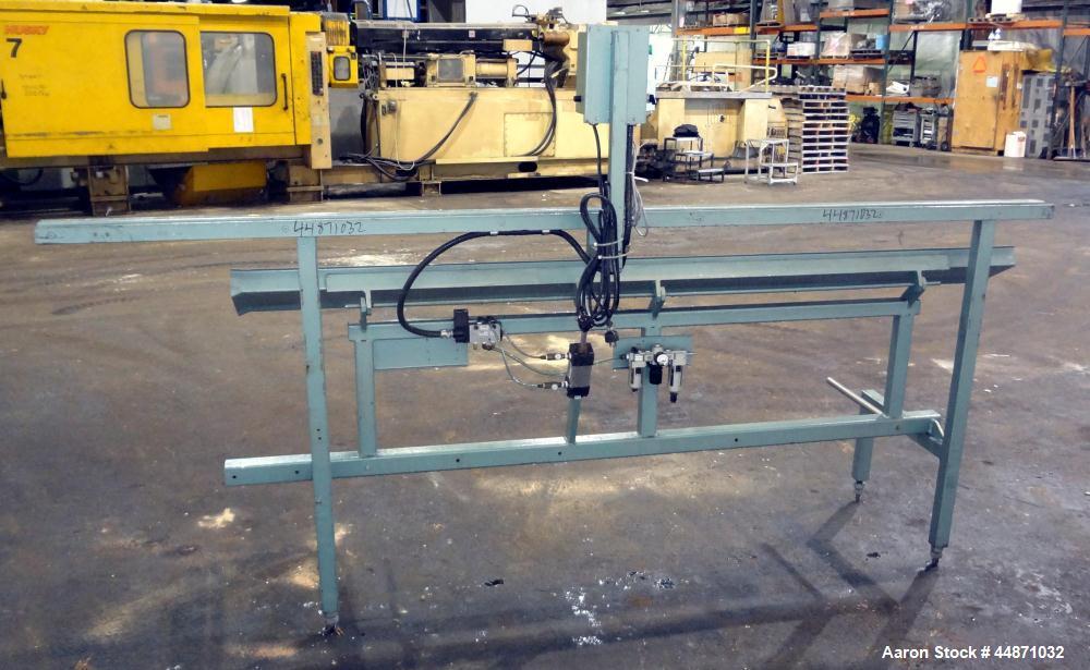 Used- Metaplast Air Operated Dump Table, Model DT6-8