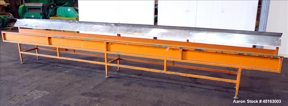 Used- Stainless Steel OEM Profile Drop Table