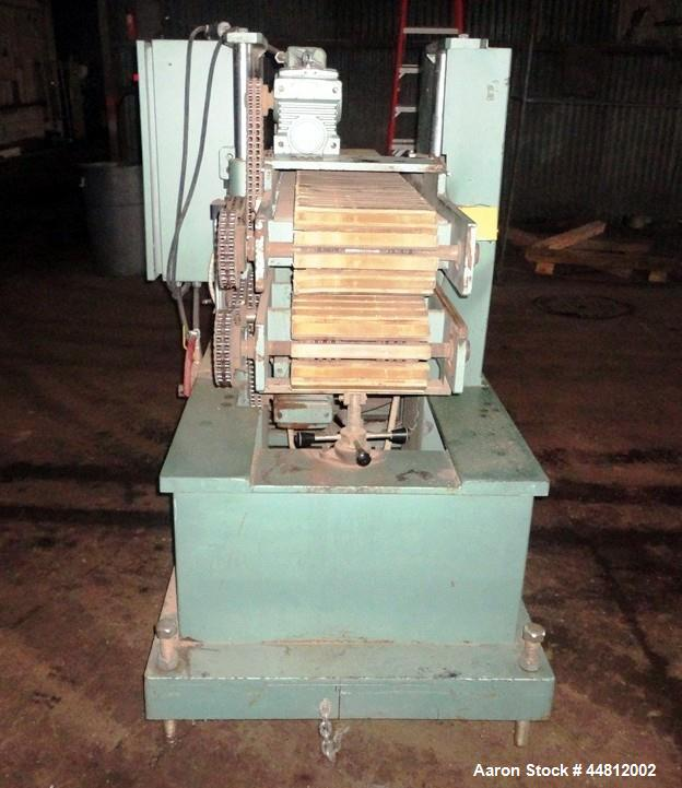 "Used- Conair Puller, Model PC12-60SP. Approximately 60"" long x 12"" wide contact surface, cleated belt, rated 1-10 FPM, indep..."