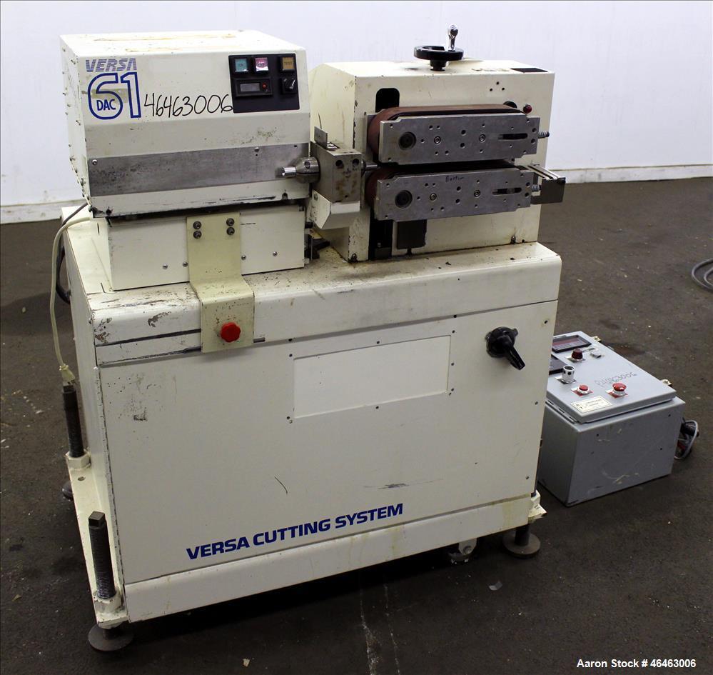 Used- Versa Machinery Puller/Cutter, Model DAC 61.