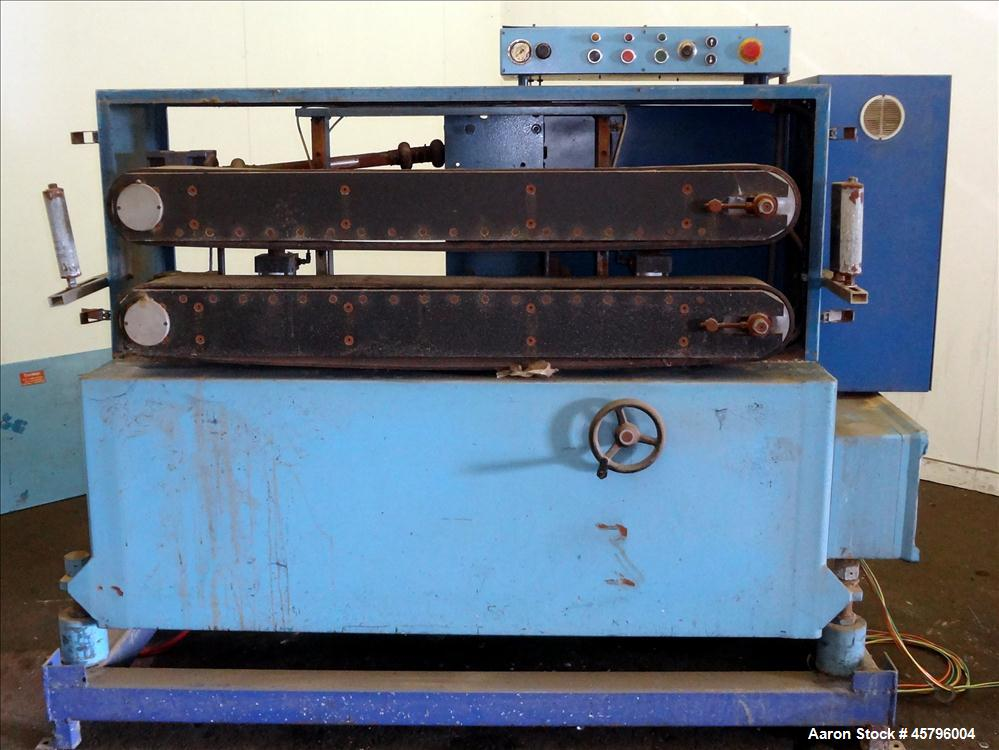 "Used- Puller, (2) 6.5"" wide x 56"" long belts"