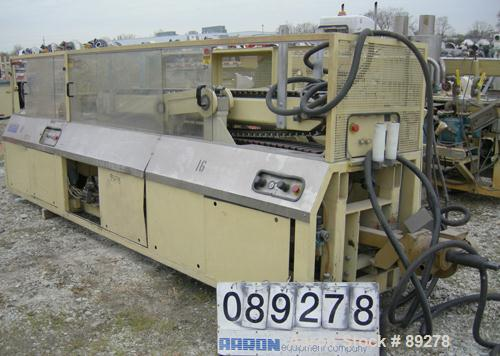 """Used- Actual Puller/Cutter, Model ARZ3000. (2) 9"""" wide x 96"""" long contact area, pneumatically adjustable belts, approximate ..."""