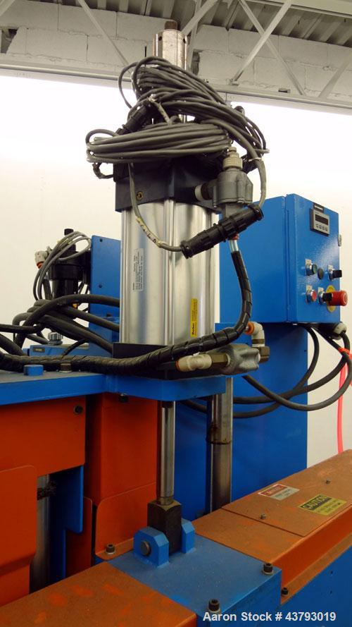 """Used- CDS Custom Downstream Systems Profile Puller, Model CBH-40-6V. 6"""" Wide x 40"""" long solid rubber belt. Speed range 3.4-1..."""