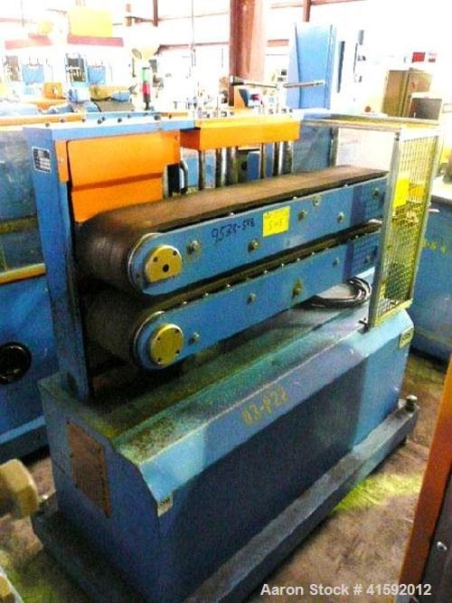 """Used- Custom Downstream Systems Belt Puller, Model CBH-48-8M. (2) 8"""" wide x approximately 48"""" contact area belts. Approximat..."""