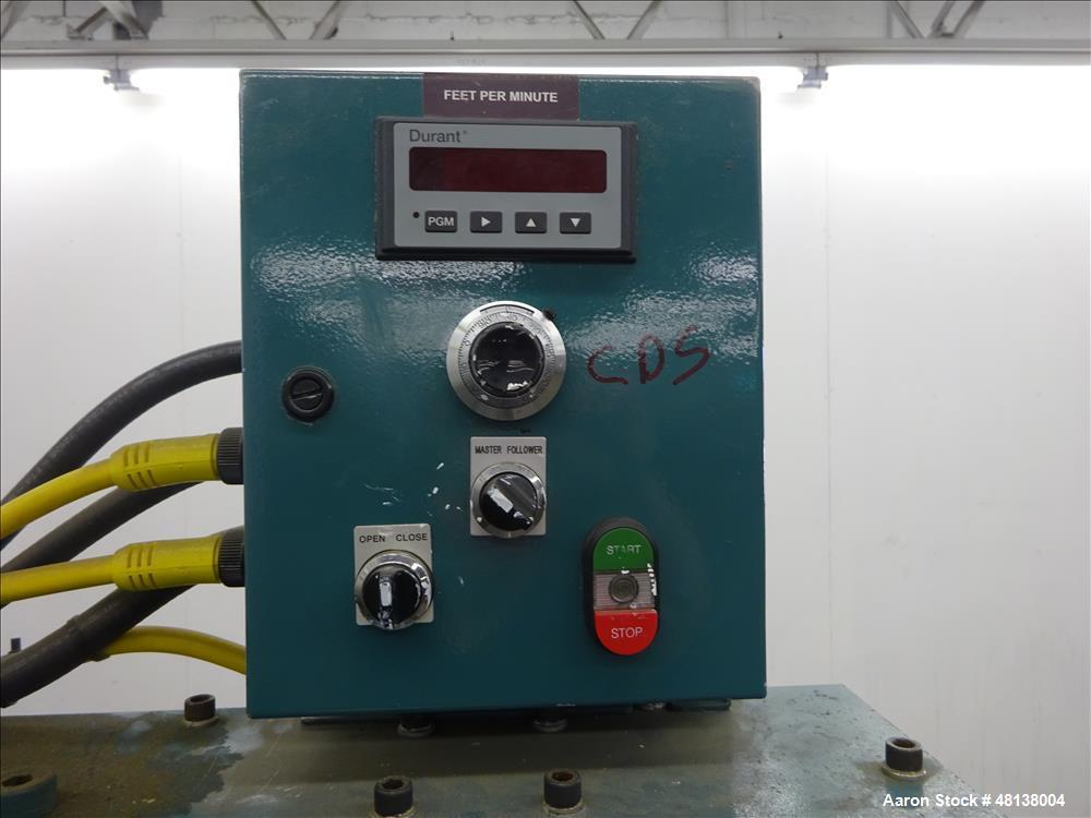 Used- CDS Customs Downstream Systems Belt Puller, Model CBH 60-8V-L.