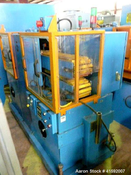 "Used- Custom Downstream Systems Cleated Belt Puller, Model CCH-60-8. (2) 8"" wide x approximate 60"" contact area cleated belt..."