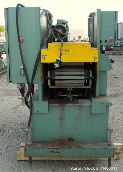 """Used- Conair Metaplast Puller, Model PC12-60SP-L. (2) 11-3/4"""" wide x 60"""" long contact area. Adjustable cleated belts. Rated ..."""