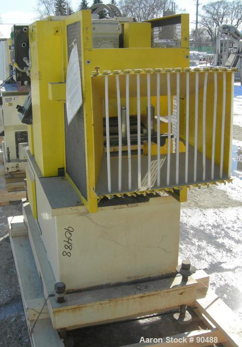 """USED- Conair Puller, Model PC8-50. (2) 7-3/4"""" wide x 50"""" long contact areas. Adjustable cleated belts. Each belt driven by a..."""