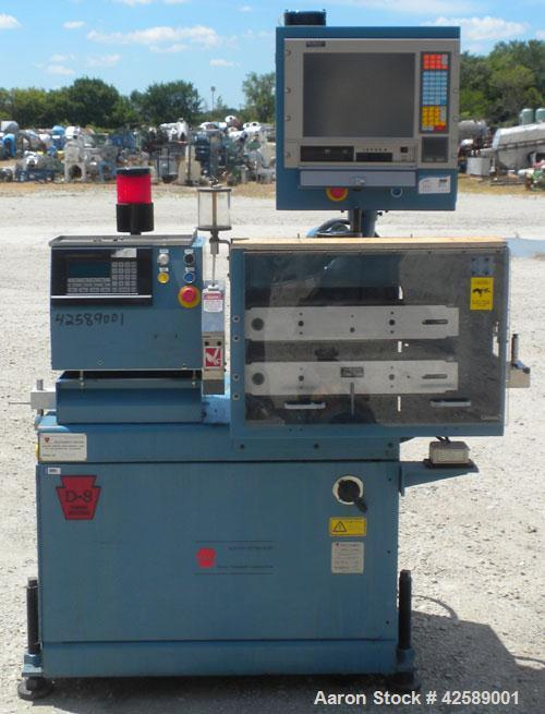 """Used- Versa Puller/Cutter Machine consisting of: (1) Versa puller, model CH22, approximate 2"""" wide x 20"""" contact length, man..."""