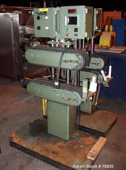"USED: Farris Foam Belt Puller. 4 1/2"" wide x 22"" long contact,pneumatically adjustable belts, approx 8"" daylight. Each belt ..."