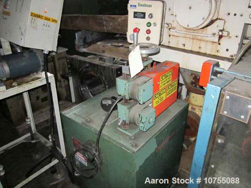 "Used-Goodman 2"" Wide x 15"" Long Belt Puller.  440 Volt single phase input, belt driven by a 3/4 hp, 180 volt, 1750 rpm DC mo..."