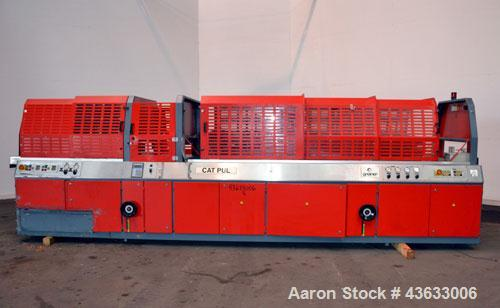"Used- Greiner Extrusionstechnik Cat Pul Puller/Saw Combination, Model 30/9-235-S-DS. (2) Approximately 9"" wide x 102"" long c..."