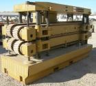 USED: Royal Machine dual lane cleated belt puller, model 069. (2) Lanes each with (2) 8