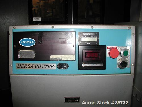 "USED: Versa puller/cutter machine consisting of: (1) Versa puller, model C22, serial #22358, (2) 2"" wide x 11"" contact lengt..."