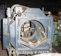 """USED: Rotary pipe saw.  (1) 10"""" dia blade, driven by a 2 hp motor.  Pneumatically adjustable.  Approx 24"""" dia cutting radius..."""