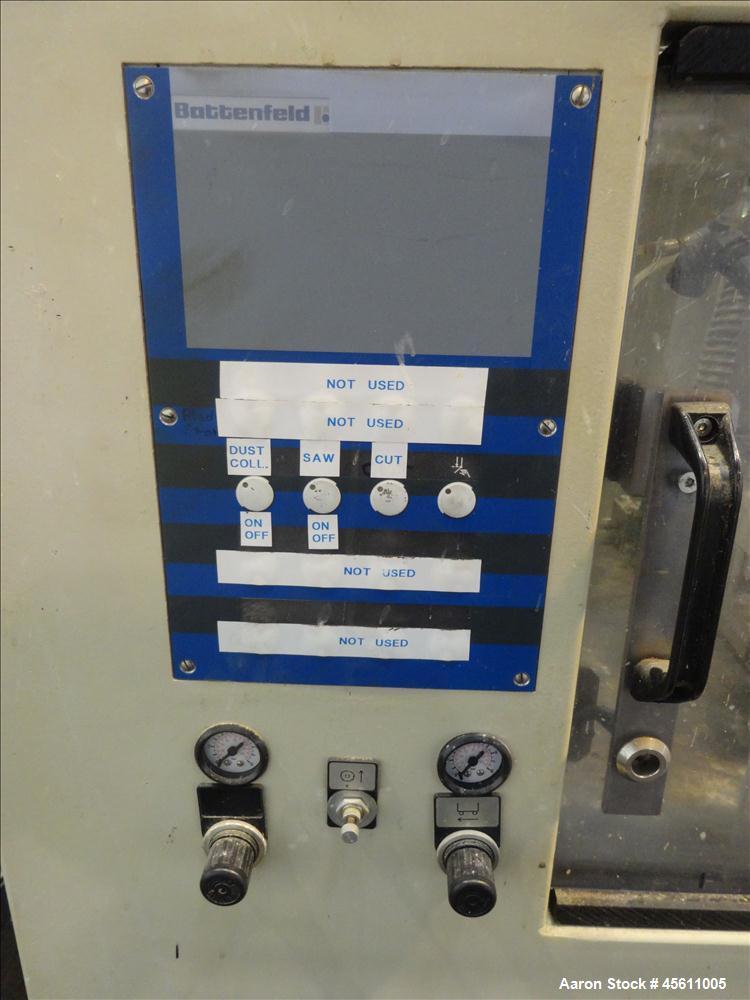 Used-Battenfeld Profile Saw, Model SPR125P