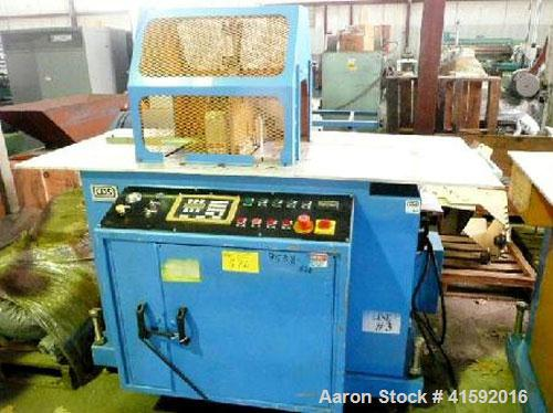 """Used- CDS MODEL CSS 6.5-13 13"""" TRAVELLING CUT OFF SAW.  NEW 2003. SERIAL #330503. SERVO DRIVE. 3/60/575 VOLTS 8 AMPS. NEW IN..."""