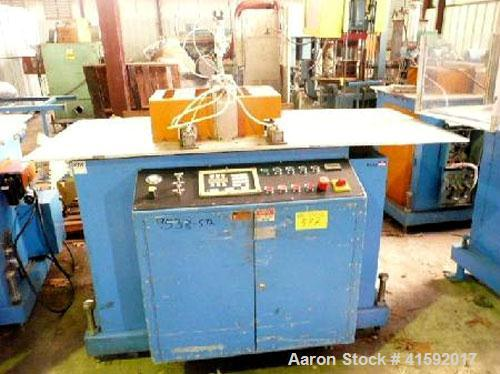 """Used- CDS Model CSS 6.5-13 13"""" traveling cut off saw. Good for up to 3.5""""high, new 2001. Serial #040601. Servo drive. 3/60/5..."""