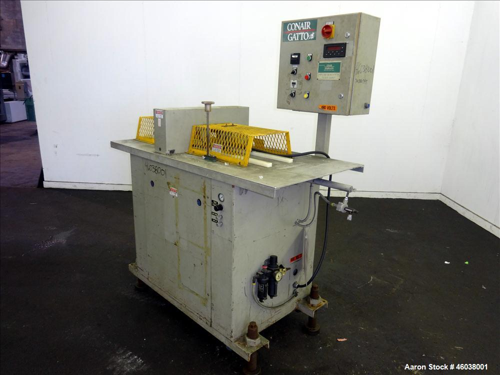 "Used- Conair Jetro Gatto Cut-Off Saw, Model UC-4-18. Approximate 16"" diameter cutting blade. 18"" Travel, 4-1/2"" O.D. capacit..."
