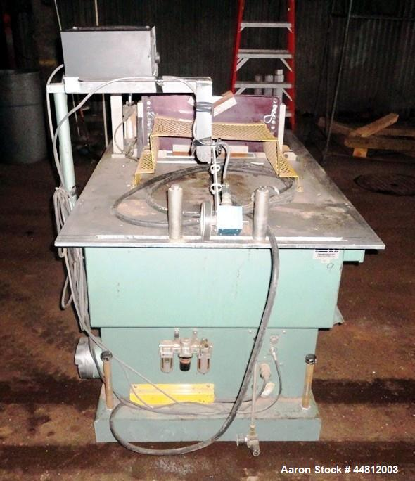 """Used- Conair Traveling Saw, Model MST-6-LR.  Capable of up to 6"""" diameter pipe and profile, approximately 14"""" diameter blade..."""