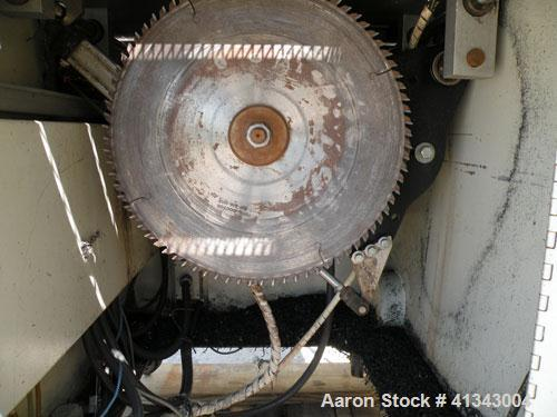 "Used- Conair Air Traveling Cut Off Saw, model MST6-L. 18"" diameter up acting blade, traveling table. Top air operated hold d..."