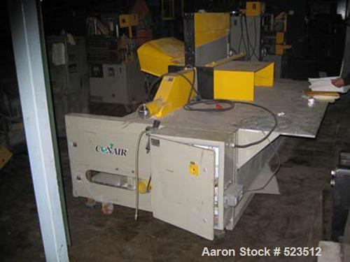 "USED: Conair model PCCS-10-30 traveling cut-off saw. 30"" diameter blade, 34"" + 4"" saw bed height, 5 hp Arbor motor blade dri..."