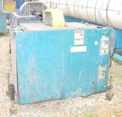 "USED: Emery traveling pipe saw, model P-SS-6-24.  18"" diameter blade driven by a 3 hp motor.  Pneumatic table travel."