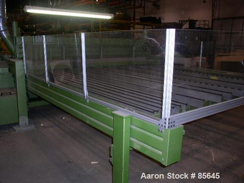 Used- Holzma Automatic Upacting Panel Saw, Model EL-60-3100