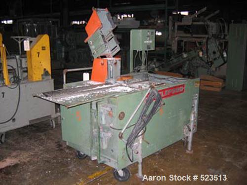 "USED: Littleford model ATS-9724 profile saw. 24"" diameter blade, 24"" travel."