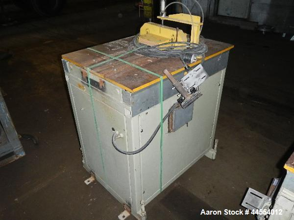 Used- Bobor travelling saw, model MDHD 15-8
