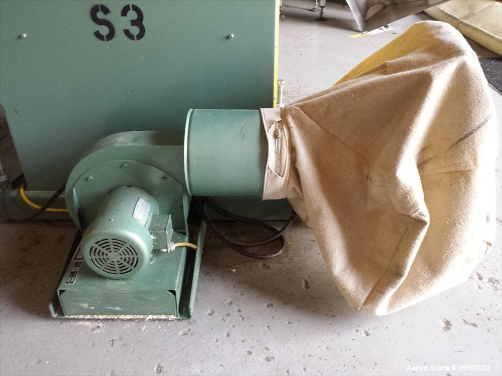 """Used- METAPLAST """"MST-6"""" Travelling Table Cut Off Saw"""