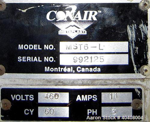 """Used- Conair Metaplast model MST6-L up cut air traveling saw able to handle up to 7"""" high x 13"""" wide profiles. 18"""" diameter ..."""