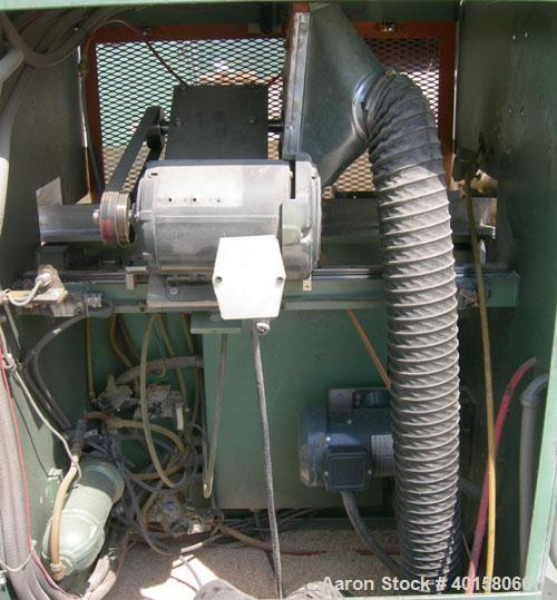 """Used- RDN Traveling Saw, model 2418. Approximate capacity 2"""" x 4"""" profile, 2"""" O.D. tubing. Driven by a 1 1/2 hp, 3/60/480 vo..."""