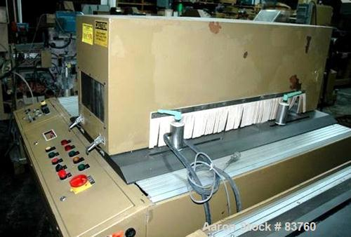 USED: Royal Single Lane Panel Saw. Includes control buttons, edge guides and work surface.