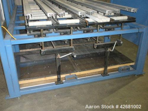 "Used-SSD Technology CNC Router, Model PRO-2000.  58 Inches per second, 100 inches per second ACC.  120"" Long cutting capabil..."