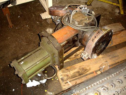 Used- Beringer 4.5' Hydraulic Side Plate Screen Changer