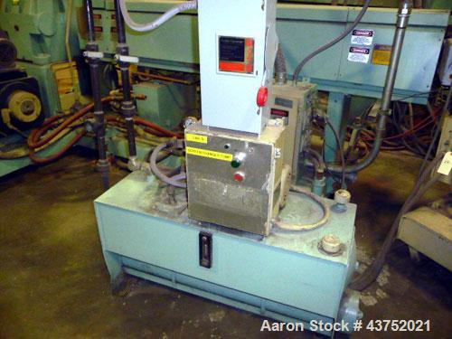 """Used- Beringer 6"""" Hydraulic Slide Plate Screen Changer, Model RSL-60. Includes a power pack. Last used on an HPM 6"""" extruder."""