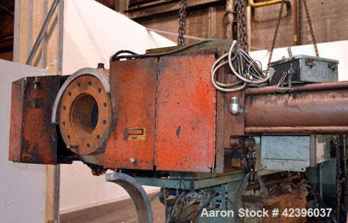 """Used- 8"""" Beringer Hydraulic Screen Changer. Requires power pack."""