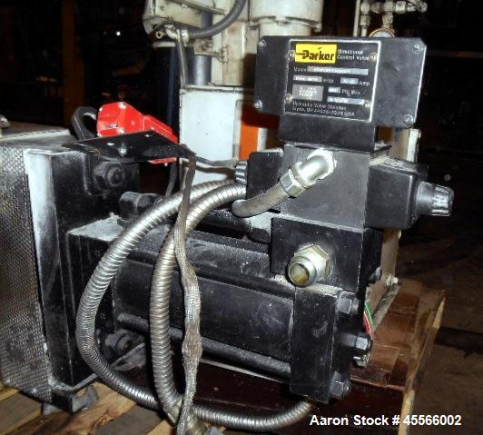 """Used-4.5"""" Dynisco Screen Changer Model EH45 With Hydraulic Pump"""