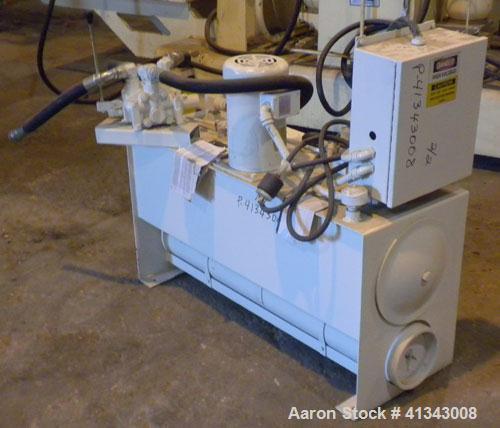 """Used- Dynisco 4-1/2"""" Hydraulic Screen Changer"""