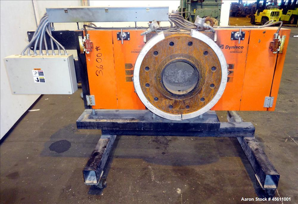 "Used-Dynisco 10"" Screen Changer"