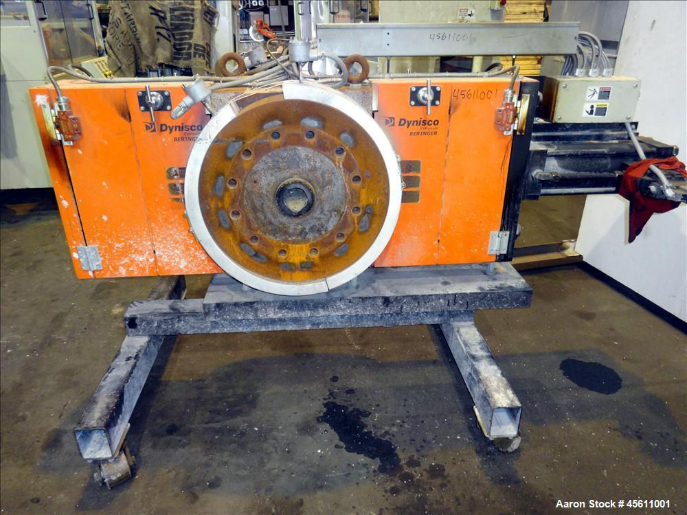 """Used-Dynisco 10"""" Screen Changer"""